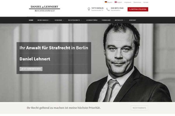 Webseiten Redesign – Rechtsanwalt Berlin
