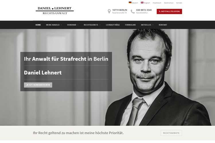 Rechtsanwalt Berlin Daniel Lehnert