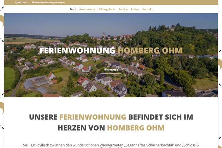 Ferienwohnung Homberg Ohm