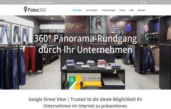 Google Street View Vogelsbergkreis, Hessen