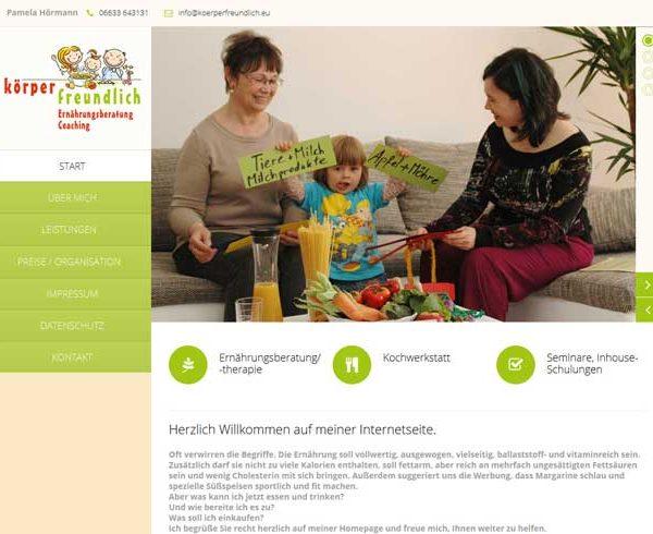Responsive Internetseite