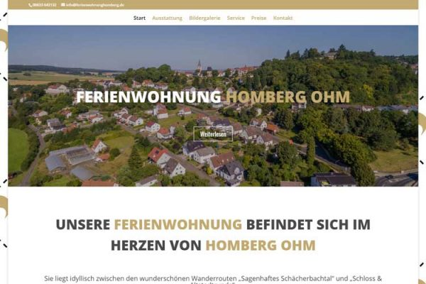 Online Marketing – Ferienwohnung Homberg Ohm